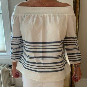Vineyard vines women's off shoulder shirt